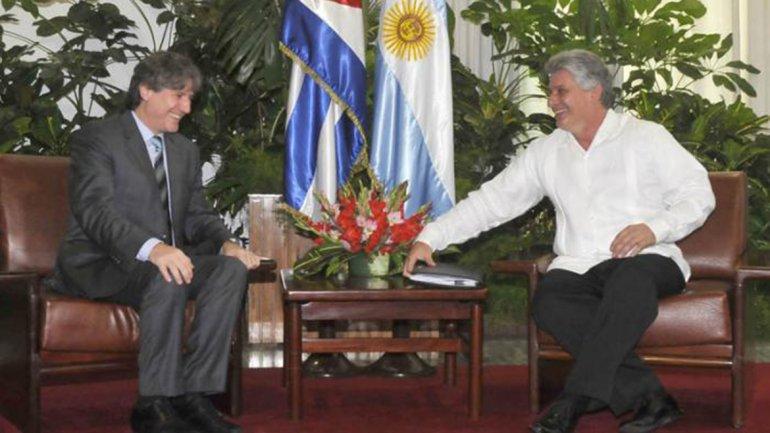 El Vicepresidente recibió la noticia durante una gira oficial