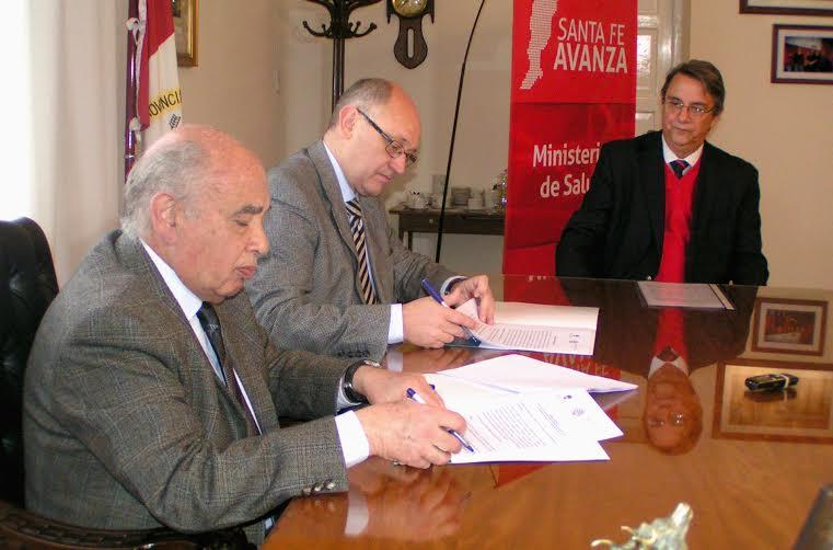 El Ministerio de Salud y la UNL firmaron un convenio para la construcción de un centro de salud en la isla Guaycurú
