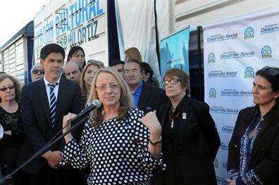 Tres ministras nacionales estuvieron en Rosario y Villa Gobernador Gálvez
