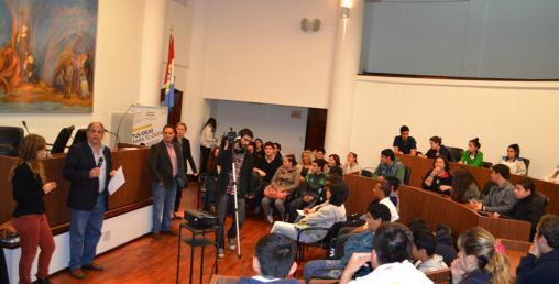 Concejo Joven: Los estudiantes concretarán sus ideas en proyectos para la ciudad