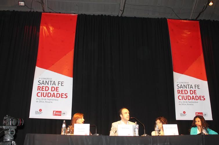 El Intendente Corral disertó en el Tercer Congreso de la Red de Ciudades