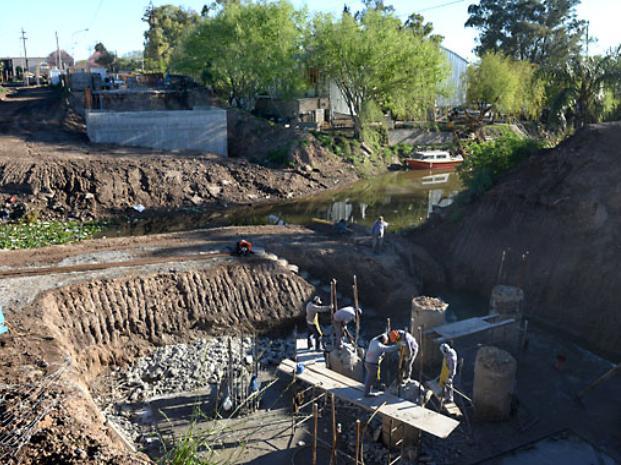 El puente entre San Lorenzo y Puerto se terminaría en febrero