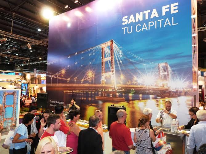 Durante cuatro días la Ciudad de Santa Fe estuvo en la vidriera turística en la FIT