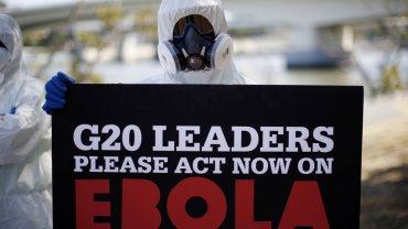 Un médico con ébola llega a los EEUU y el G20 se compromete a