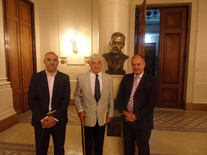 Jorge Henn y Solari Yrigoyen coincidieron en afianzar los principios progresistas de la UCR