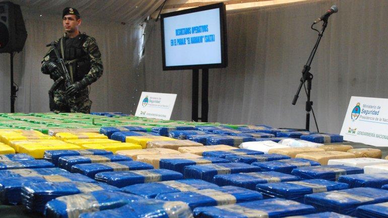 Procesaron a 46 narcos que ingresaban droga desde Bolivia y la exportaban a Europa