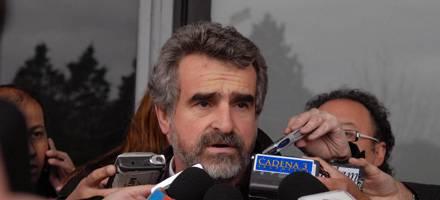 La presidenta recibió al ex candidato a gobernador, Agustín Rossi