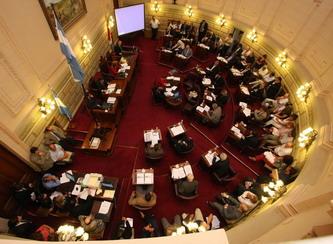 El Senado conformó sus comisiones permanentes