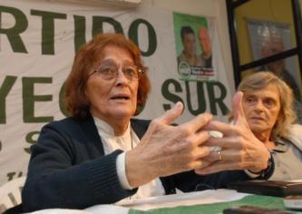 Alcira Argumedo lanzó su candidatura por Proyecto Sur
