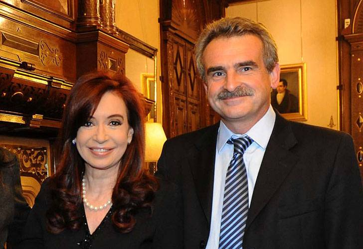 Agustín Rossi también se reunió con la presidenta Cristina de Kirchner
