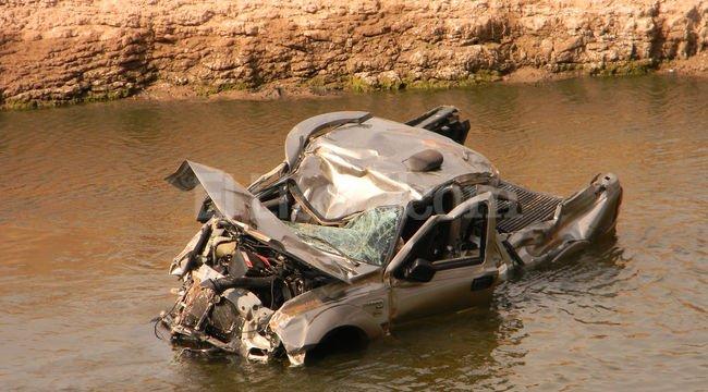 Accidente en la Autopista Santa Fe - Rosario