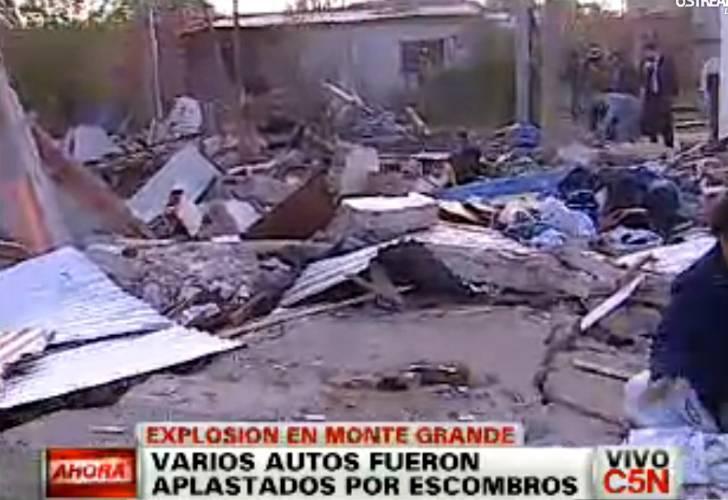 Explosión y misterio en Esteban Echeverría: