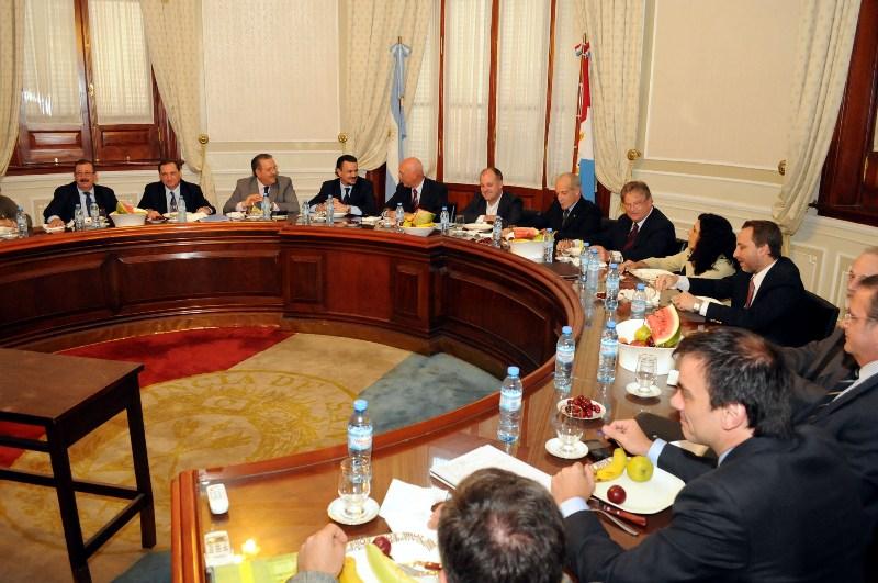 Reunión de los gabinetes provincial y municipal en Reconquista