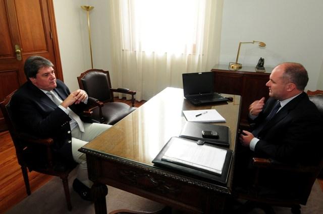 Henn y Rubeo aseguraron trabajar por la previsibilidad de la agenda legislativa