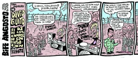 Una tira cómica de Gustavo Sala sobre el Holocausto desató una polémica