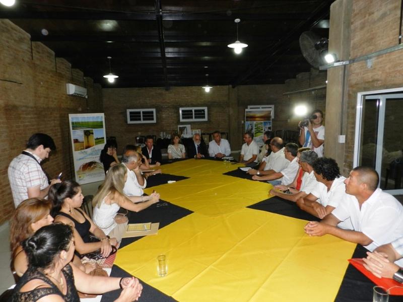 Reunión por el turismo en San Javier