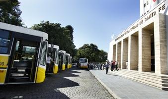 Destacan la actualización permanente de las unidades de transporte urbano