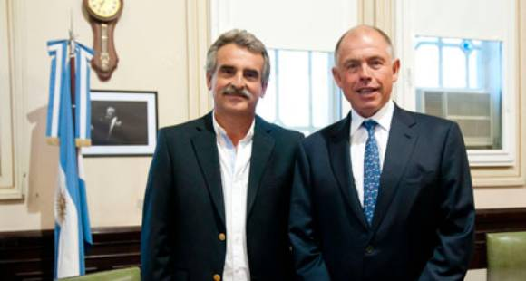 Agustín Rossi apoya a Freyre como titular del Partido Justicialista santafesino