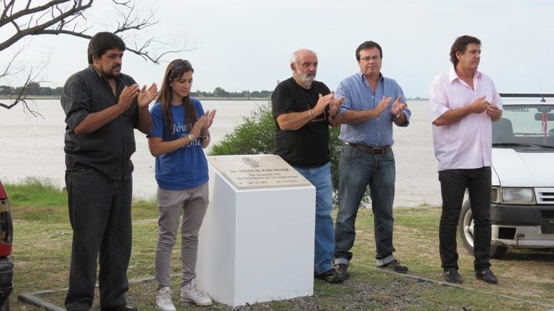 Redescubrieron la Placa recordatoria al ex Presidente Néstor Kirchner