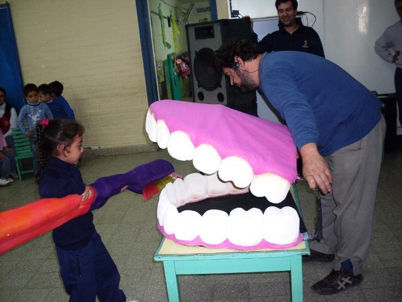 municipal aprendieron sobre salud bucal con el circulo odontologico