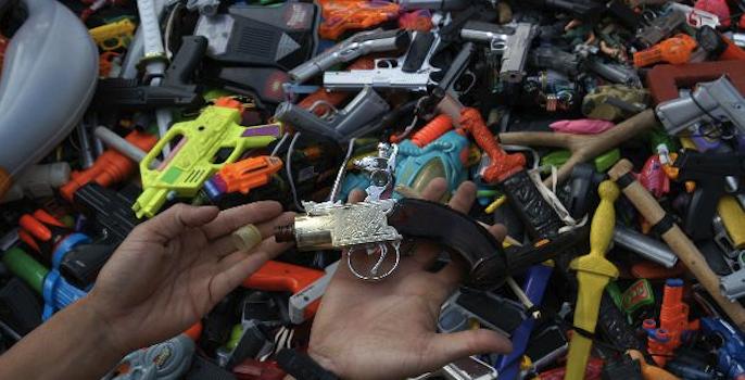 Reconocerán a comercios que no venden juguetes bélicos