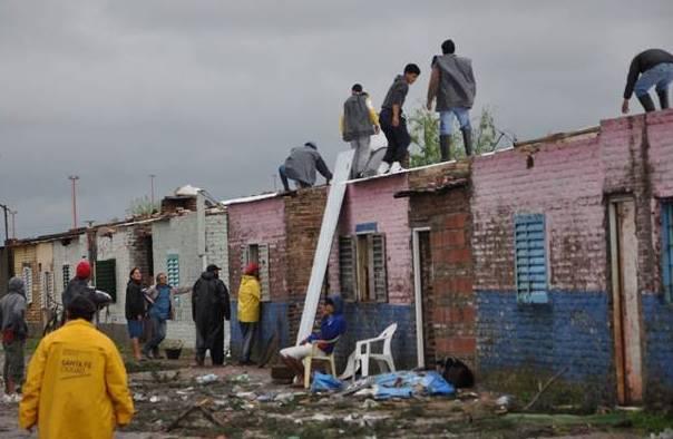 Terminó la reconstrucción de 26 viviendas de Los Sin Techo en Barranquitas Oeste