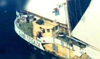 Militares de Israel abordan un barco con ayuda humanitaria e impiden la ruptura del bloqueo