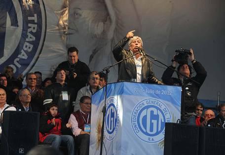 Hugo Moyano no será candidato a diputado