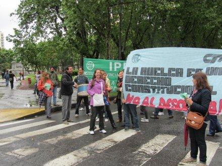 ATE Rosario exige al gobierno que abra una instancia de diálogo por el conflicto en el IPEC