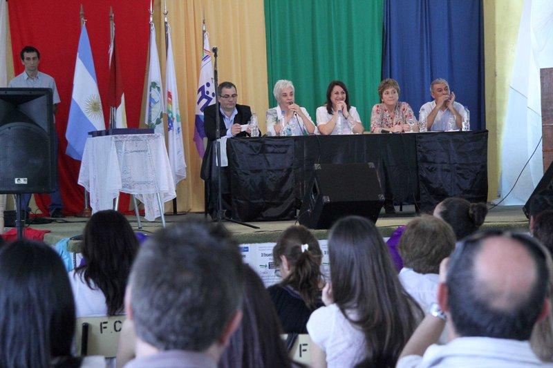 Letizia Mengarelli presidió la apertura del IV Encuentro Provincial de Cooperadores Escolares
