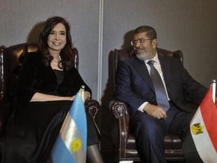 Egipto le pidió a CFK que intervenga para frenar la violencia en la Franja de Gaza