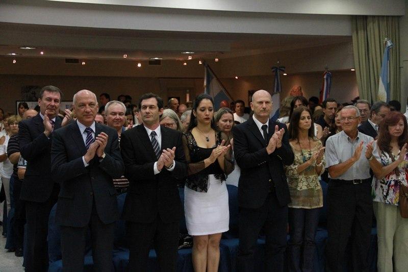 El gobernador participó de los festejos por el 130º aniversario de la ciudad de Armstrong