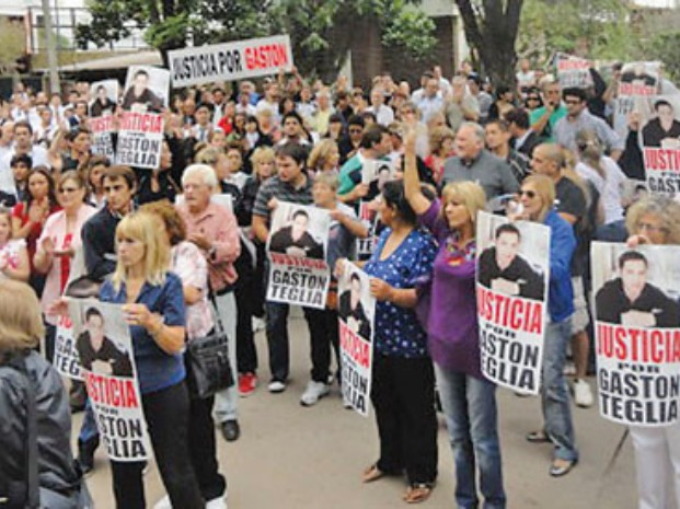 Dictaron el procesamiento de dos personas por el crimen de Gastón Teglia