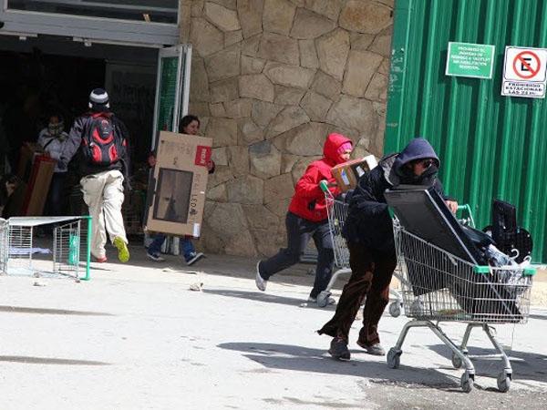 Bariloche, en alerta por temor a nuevos saqueos