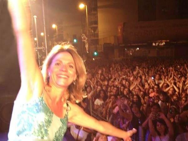 Marcela Morelo pidió más seguridad en Lanús y su show terminó en escándalo