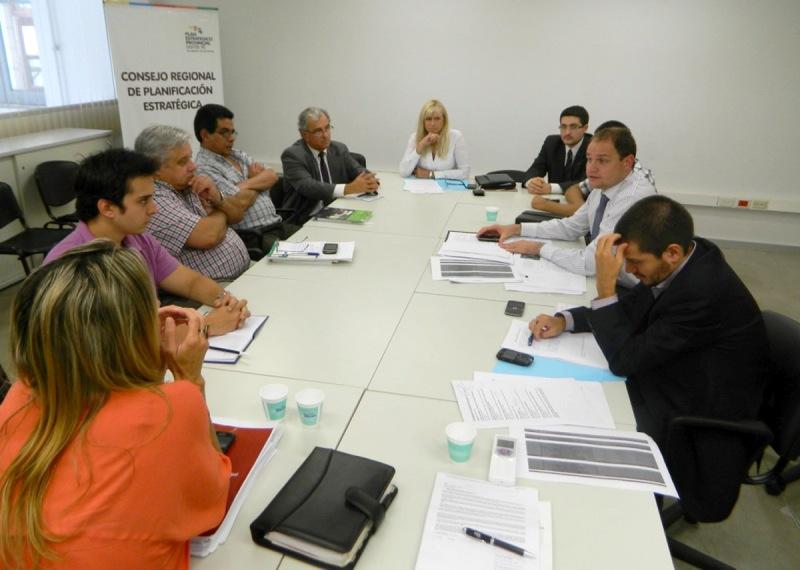 Se reunieron las comisiones del Consejo Provincial de Seguridad