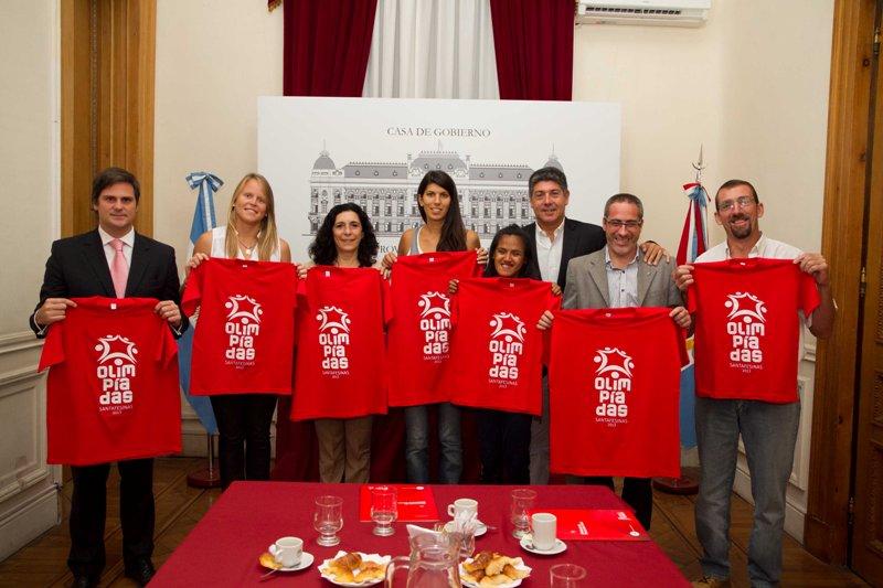 Presentaron las Olimpíadas Santafesinas a deportistas destacados