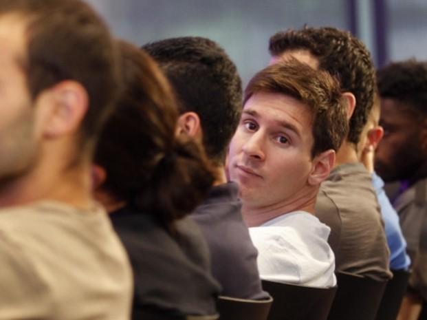 Lionel Messi descansa en Rosario para entrenar con la selección desde el lunes