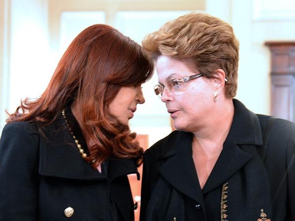 Cristina y Dilma suspendieron una reunión bilateral en Montevideo