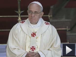 Francisco exhortó a obispos y sacerdotes a ser