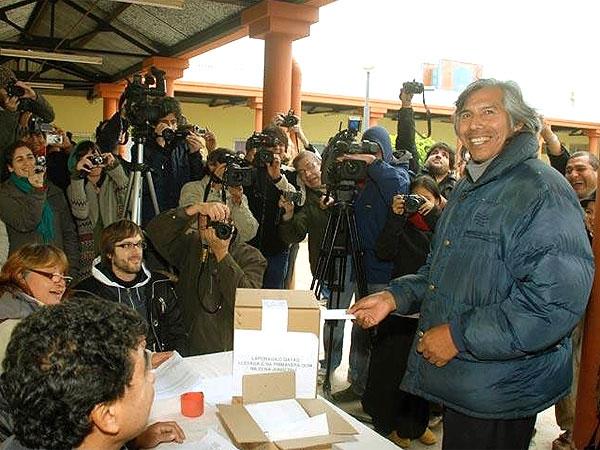 En los distritos que resaltó la Presidente apenas votaron 819 personas