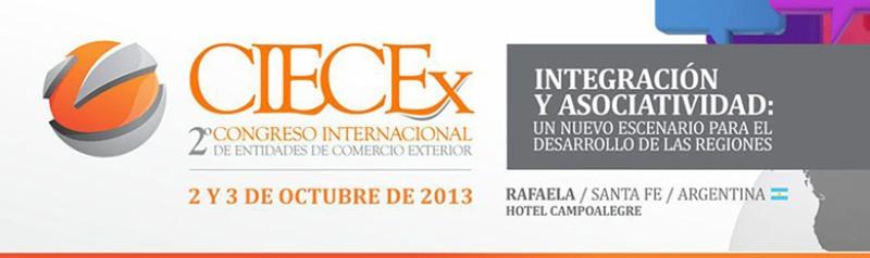 Inscripciones para el 2º Congreso Internacional de Entidades de Comercio Exterior