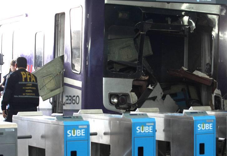 El motorman se llevó la memoria del tren luego del choque en Once