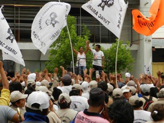 Milagro Sala tomó un ministerio y realizó 25 cortes de ruta para exigir planes de vivienda