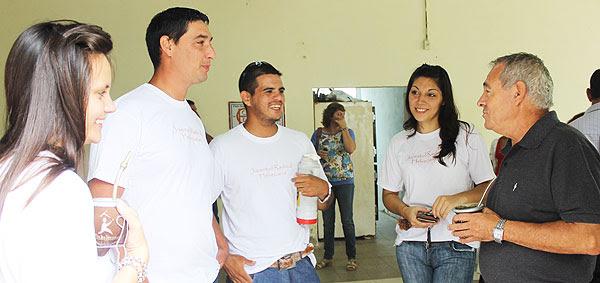 Mario Barletta se reunió con Jóvenes