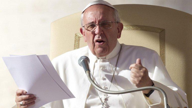 Sorprendió el Papa con una referencia a la guerrilla de los 70